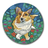 Corgi Polymer Clay Silly Milly THUMBNAIL