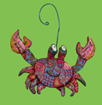 Crab Polymer Clay Ornament_THUMBNAIL