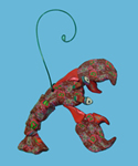 Lobster Polymer Clay Ornament