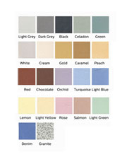 Unglazed Porcelain Color Tile Sample Pack_SWATCH