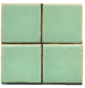 matt green tile, green tile, flat tile, plain tile, subway tile, hexagon tile, solid color tile, color tile, handmade
