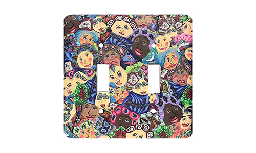 Faces Silly Milly Switch Plate SWATCH
