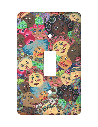 Faces Silly Milly Switch Plate MAIN