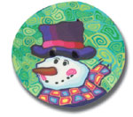 Polymer Clay Buttons, Holiday Buttons