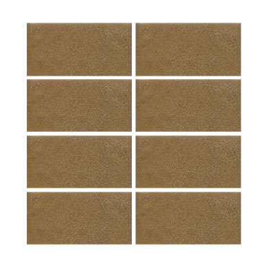 "In Stock! Handmade Seconds 2 x 4"" Arts & Crafts brown MAIN"