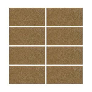 "In Stock! Handmade Seconds 2 x 4"" Arts & Crafts brown THUMBNAIL"