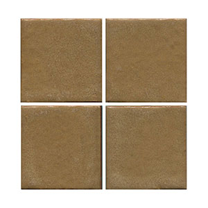 brown tile, matt tile, flat tile, plain tile, subway tile, hexagon tile, solid color tile, color tile, handmade THUMBNAIL