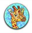 Giraffe Polymer Clay Silly Milly THUMBNAIL