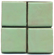 Mint Green, green tile, flat tile, plain tile, subway tile, hexagon tile, solid color tile, color tile, handmade