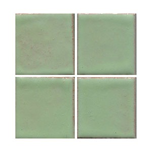 Mint Green, green tile, flat tile, plain tile, subway tile, hexagon tile, solid color tile, color tile, handmade THUMBNAIL