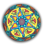 Heritage Mandala Polymer Clay Silly Milly