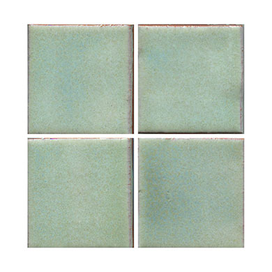 blue tile, lite blue tile, flat tile, plain tile, subway tile, hexagon tile, solid color tile, color tile, handmade_MAIN