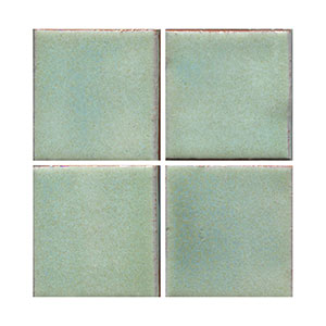 blue tile, lite blue tile, flat tile, plain tile, subway tile, hexagon tile, solid color tile, color tile, handmade THUMBNAIL