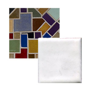 "In Stock includes 2 x 6"" Matte White Handmade Tile Seconds THUMBNAIL"