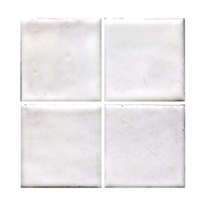 "In Stock 4 x 4"" Glossy Marshmallow Tile THUMBNAIL"
