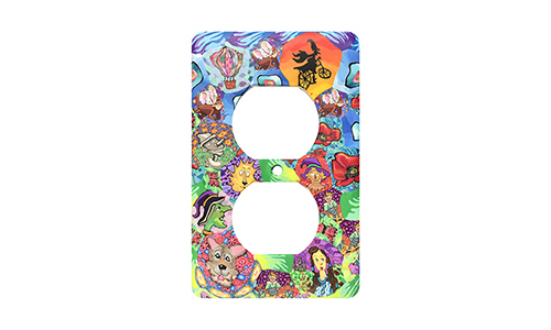 Wizard of Oz Silly Milly Switch Plate SWATCH