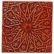 Stamped Victorian Star Tiles THUMBNAIL