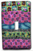 Pastel Garden Quilt Silly Milly Switch Plate Mini-Thumbnail