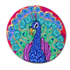 Peacock Spectrum Polymer Clay Silly Milly