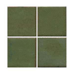 dark green tile, matte green tile, flat tile, matt green tile, subway tile, solid color tile, color tile, handmade THUMBNAIL