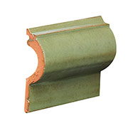 "Roll Cap Trim 4"" tall and 1"" deep 1/4"" thick SWATCH"