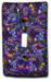 Purple Random Silly Milly Switch Plate SWATCH