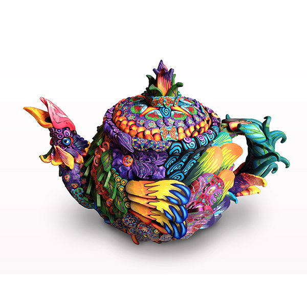 Rooster Teapot THUMBNAIL