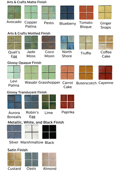 handmade ceramic tile samples MAIN