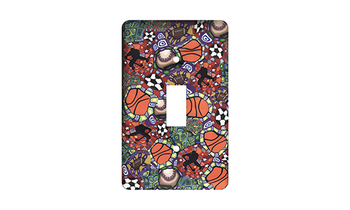 Sports Silly Milly Switch Plate SWATCH