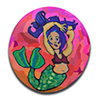 Mermaid Polymer Clay Cane THUMBNAIL