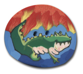 Polymer Clay Buttons, Animal Buttons