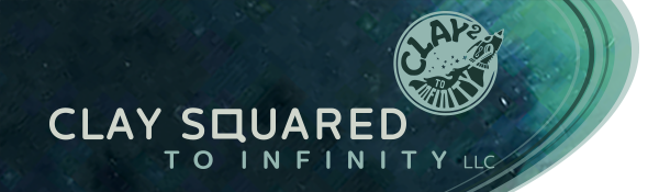 Clay Squared to Infnity Logo