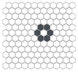 plain tile, subway tile, hexagon tile, solid color tile, color tile, handmade THUMBNAIL
