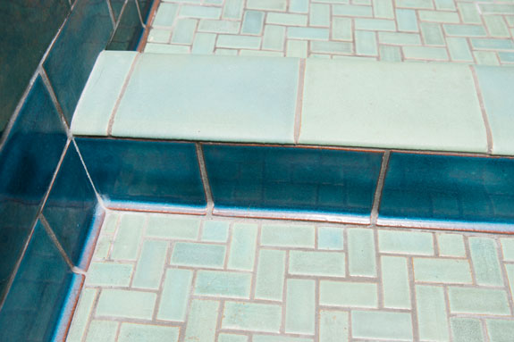 "Tiles are 4 1/4"" wide and available in lengths of 4"", 6"", and 8"". Tiles are all 1/4"" thick."