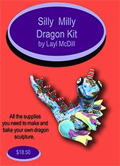 Dragon Kit Silly Milly Polymer Clay Kit MAIN