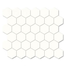 "2"" Hexagon Unglazed Porcelain_SWATCH"