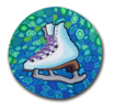 Ice Skate Polymer Clay Silly Milly THUMBNAIL