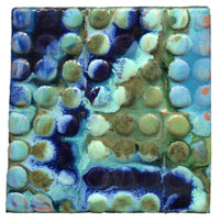 abstract tile art, random tile, mod tile, modern tile, contemporary tile, accent tile