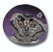 Owl Polymer Clay Button_THUMBNAIL