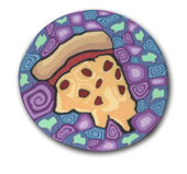 Pizza Polymer Clay Silly Milly MAIN