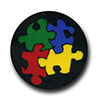 Autism Puzzle Pieces Polymer Clay Silly Milly