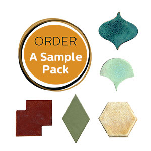 handmade ceramic tile samples THUMBNAIL