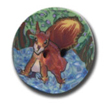 Squirrel Polymer Clay Button