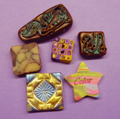 Mosaic Tile Making in Polymer Clay