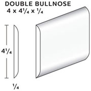 Double Bullnose Tile SWATCH