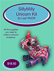 Unicorn Silly Milly Polymer Clay Kit THUMBNAIL