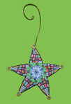 Star Polymer Clay Ornament