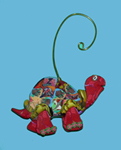 Turtle Polymer Clay Ornament THUMBNAIL