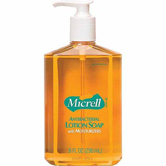 Antibacterial Gojo Micrell Antibacterial Hand Soap