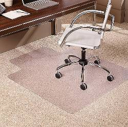 Staples Chairmat For Berber Or Medium Pile Carpets View Enlarged Image
